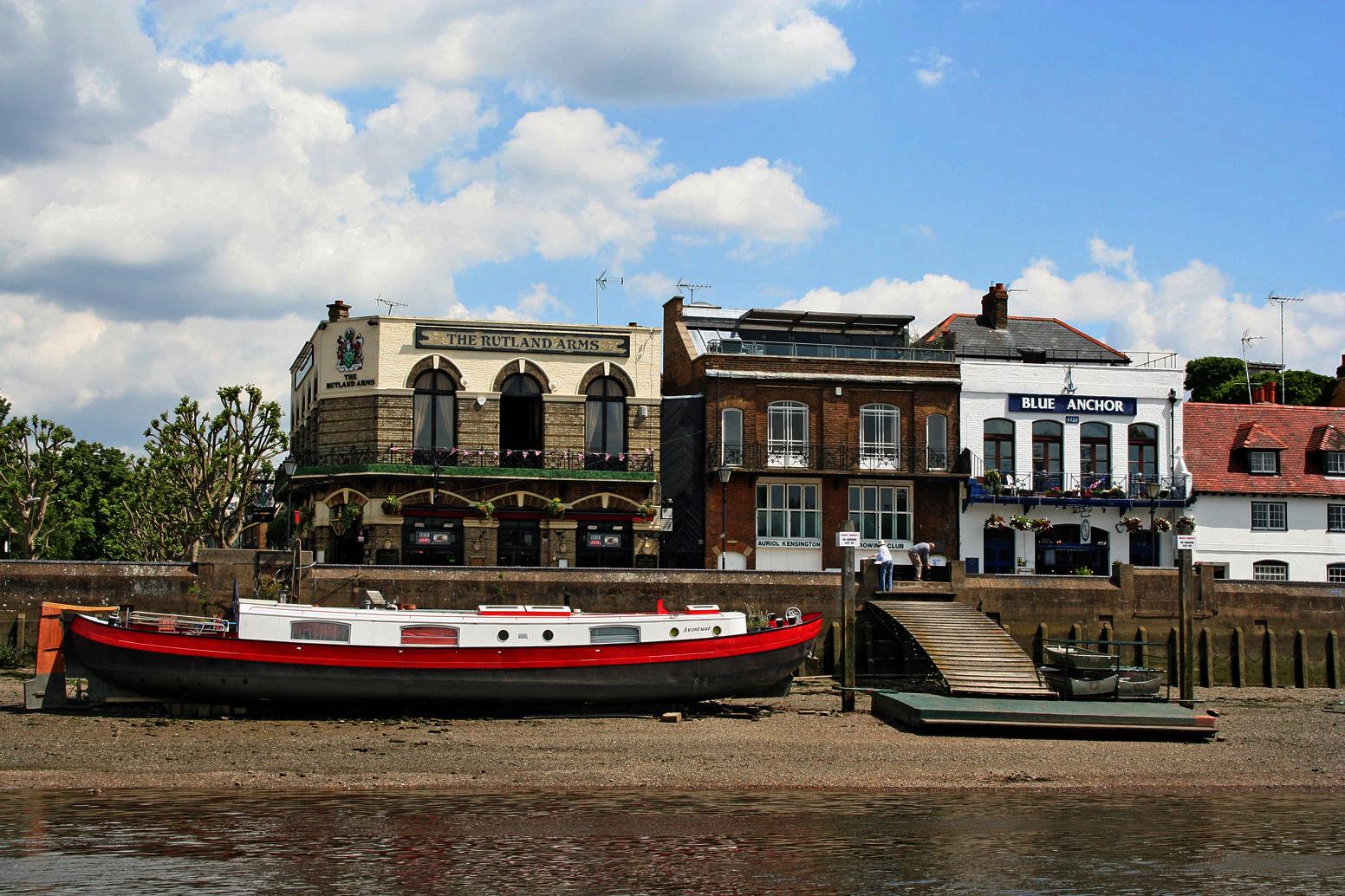 Themsefahrt von London nach Hampton Court 61