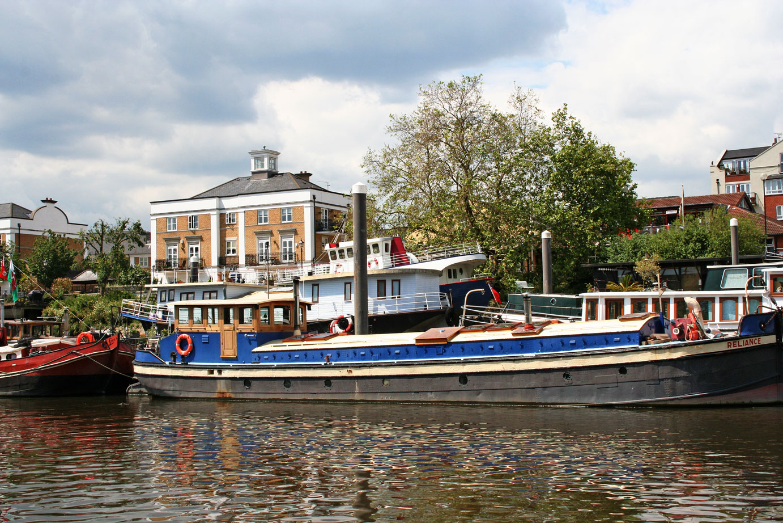 Themsefahrt von London nach Hampton Court 80