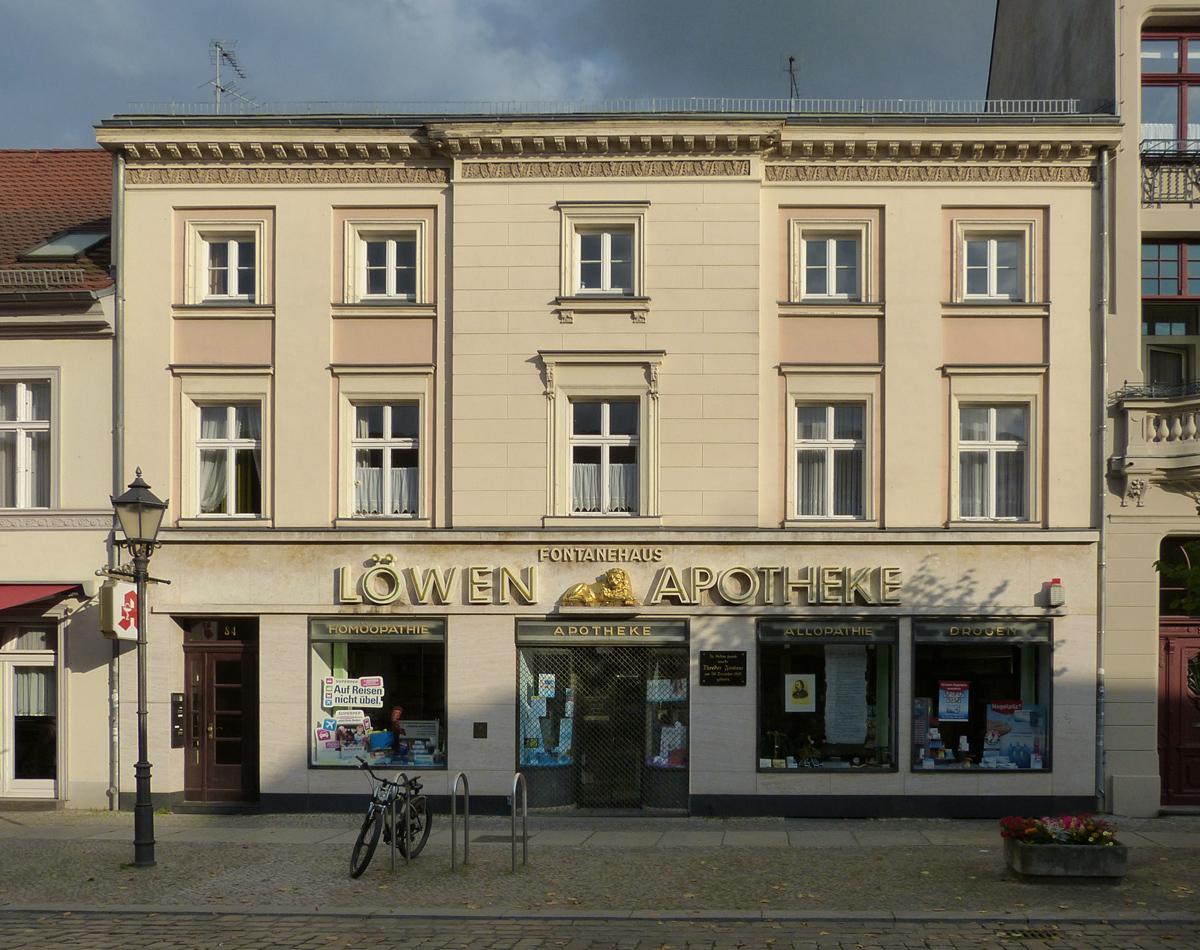 Theodor Fontane wurde vor 200 Jahren in diesem Haus geboren