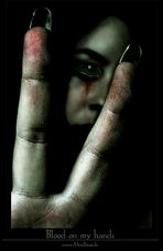There is blood on my hands