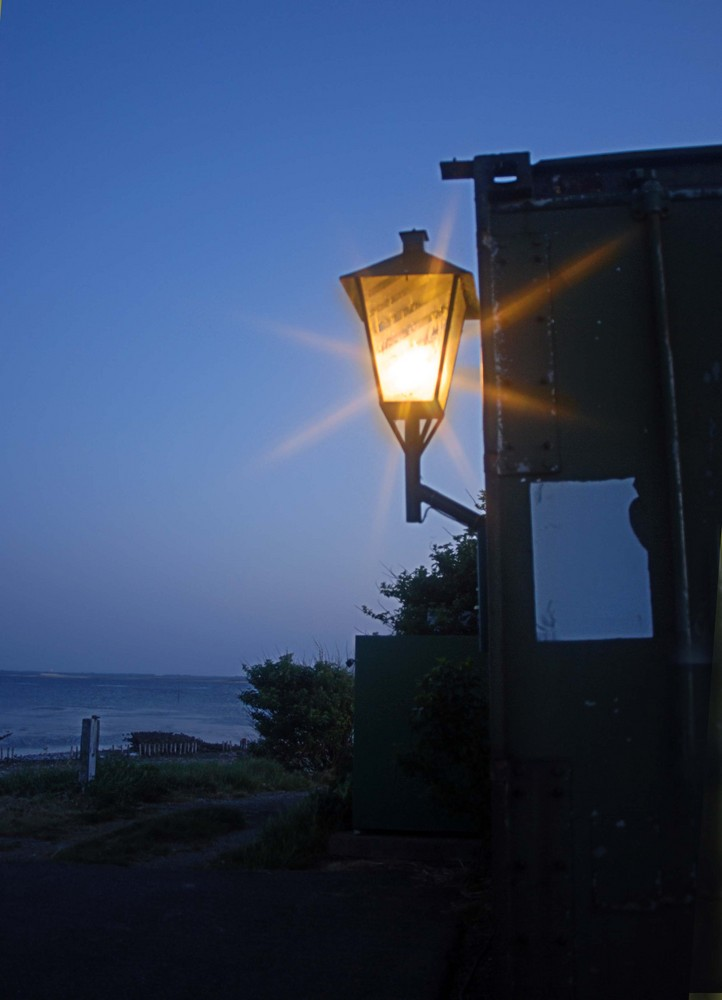 There's a light - at blue harbour
