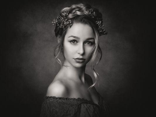 frauen fotos schwarz weiß
