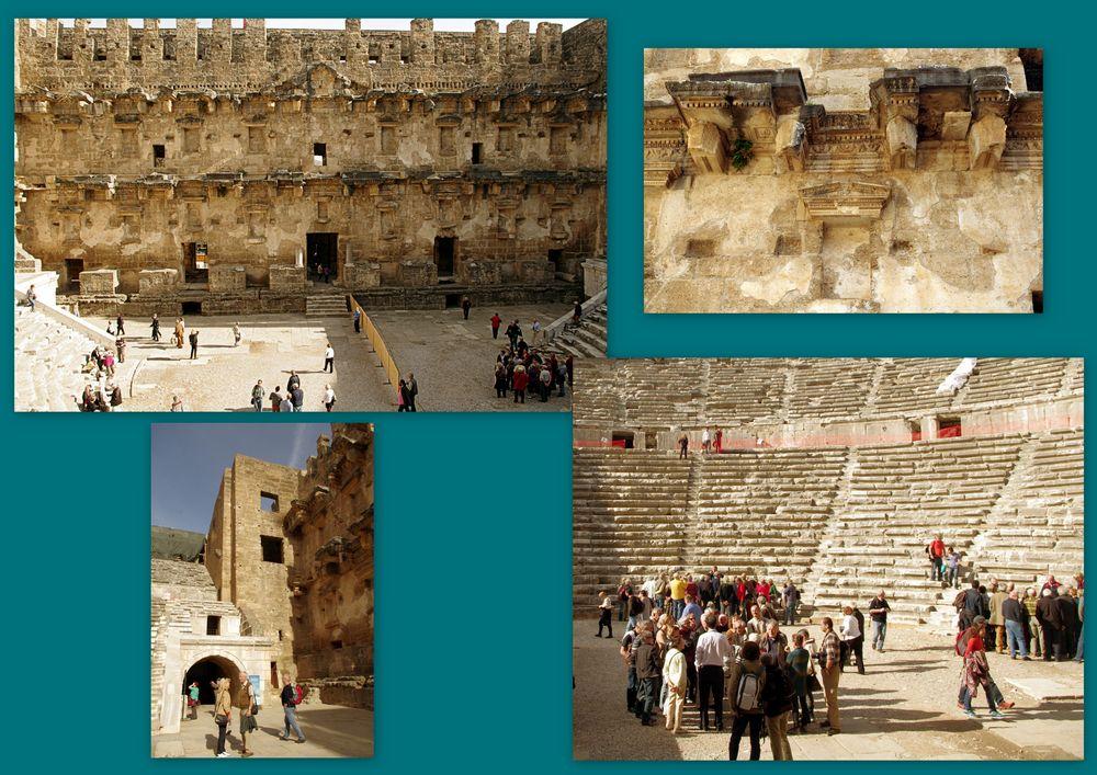 Théâtre romain d'Aspendos, Turquie