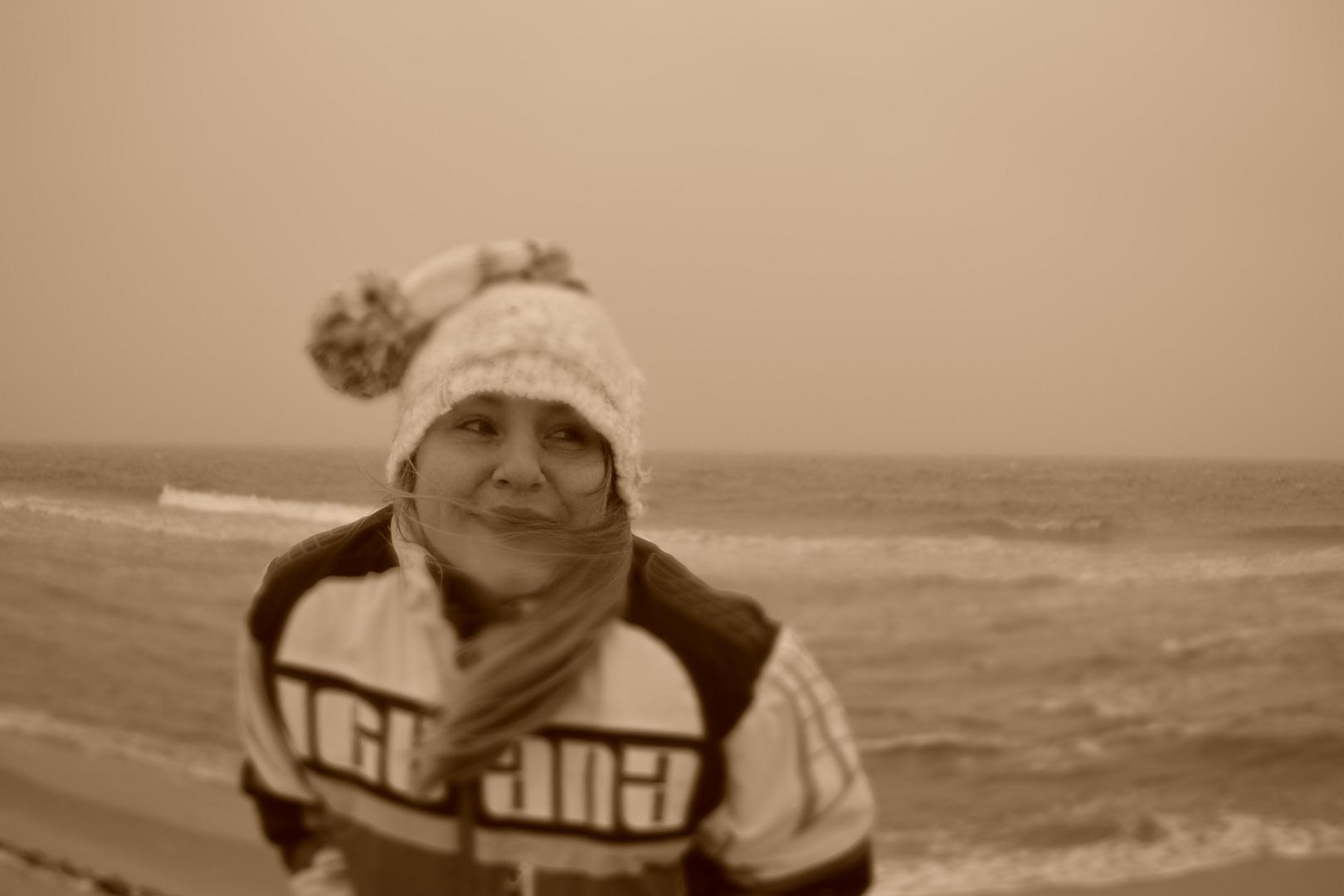 Thiessow am Strand