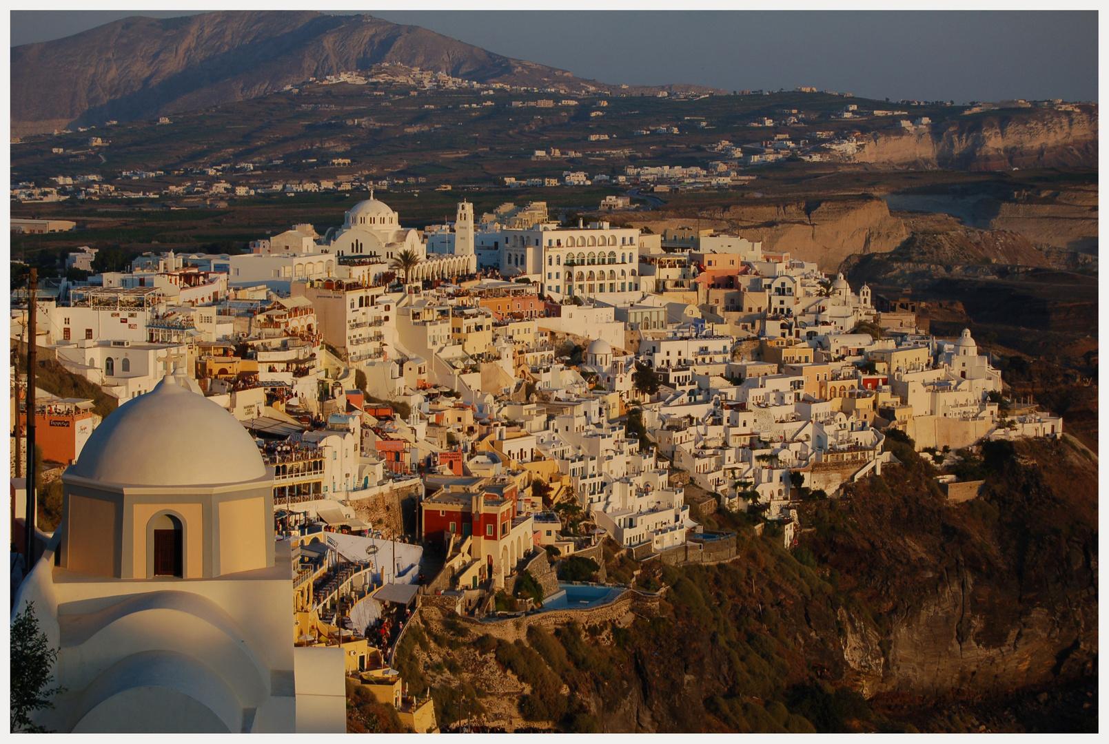 Thira (Fira) auf Santorini