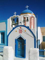 Thirasia- kleiner Nachbar von Santorin