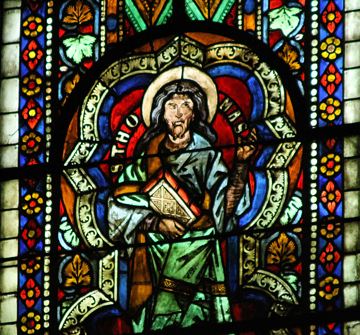 Thomas in Naumburg Glasfenster