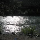 Thompson River at night