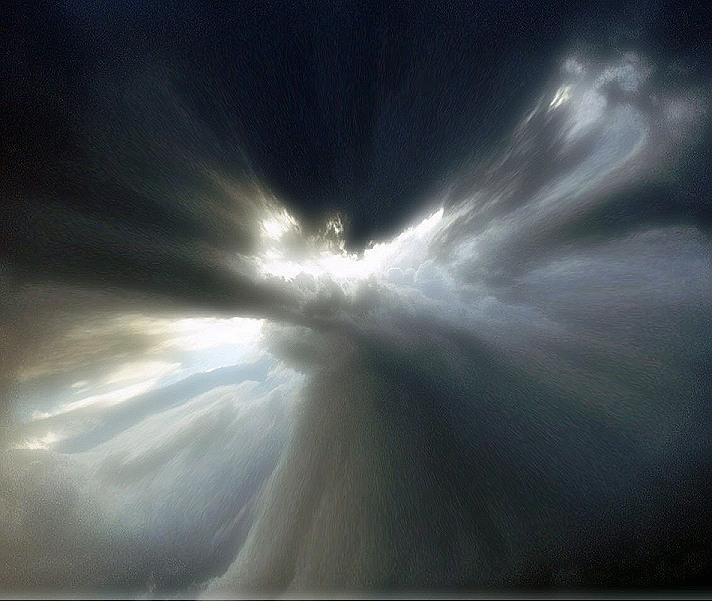 threatning sky