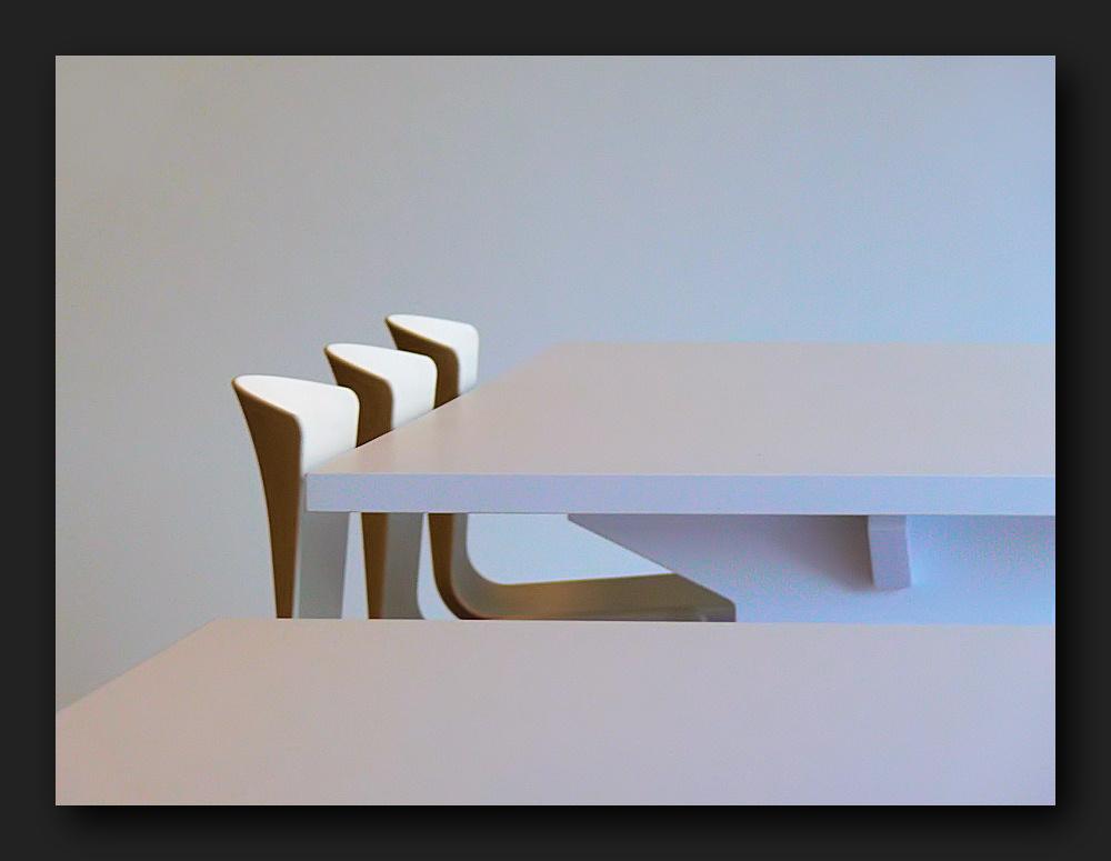 Three chairs