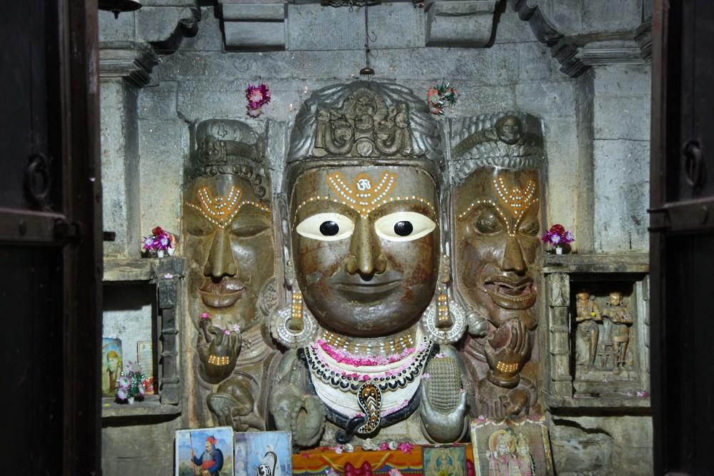 Three Faced Statue Cittogarh