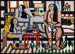 THREE WOMAN (Fernand Leger, MoMA, NY)