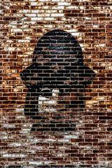 through bricks