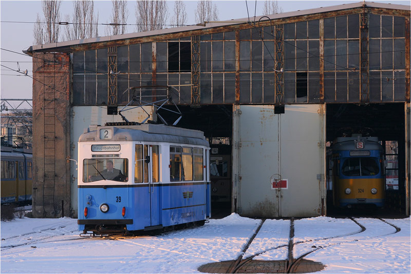 Thüringerwaldbahn [59] - Wagenhalle