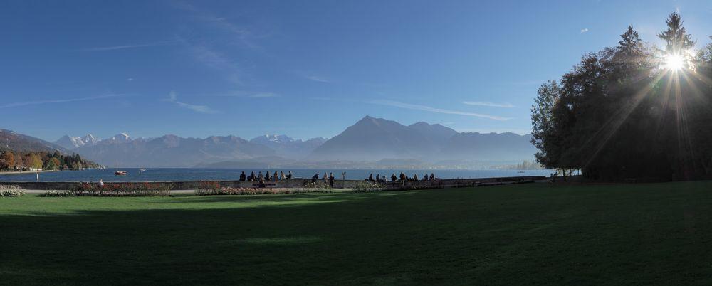 Thun Schadau Panorama