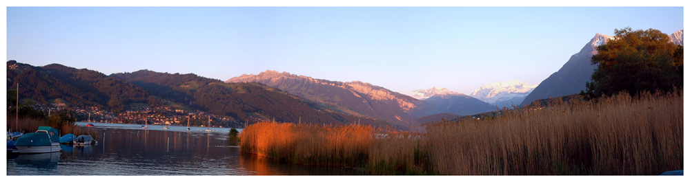 Thuner See im Berner Oberland