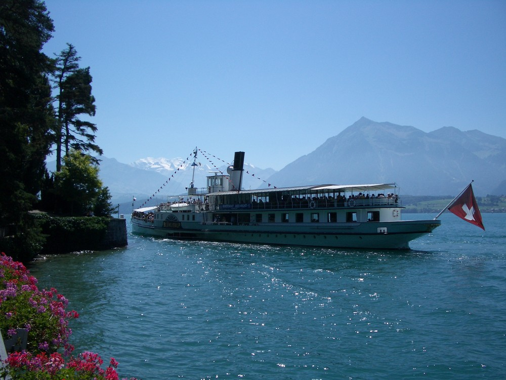 Thunersee im Sommer