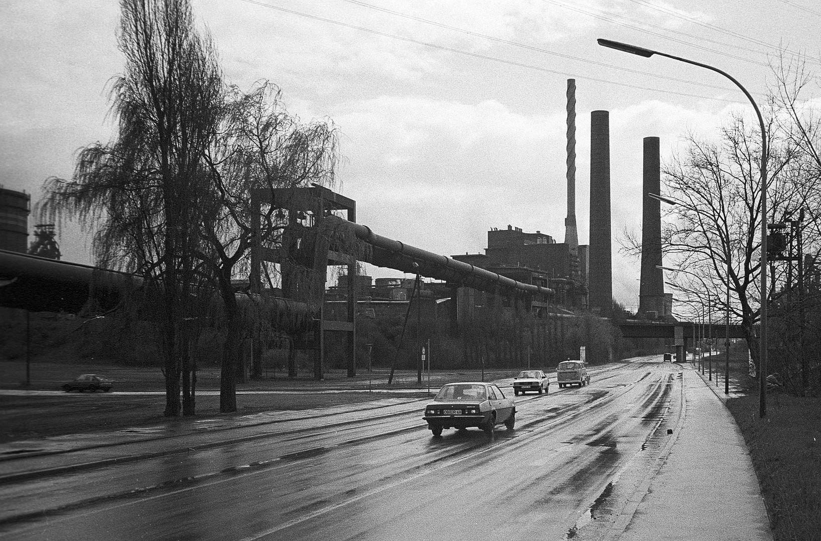 Thyssen Kraftwerk Hamborn, 1985