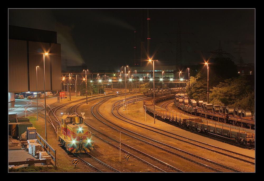 Thyssen-Krupp in Duisburg-Marxloh