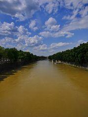 tiber-hochwasser