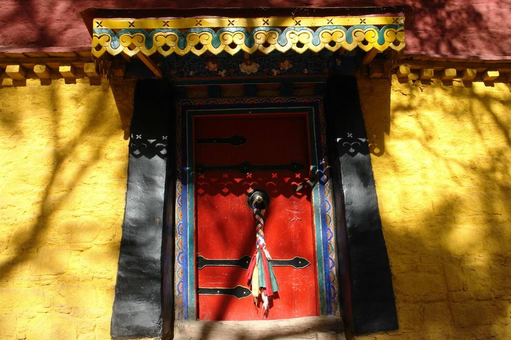 Tibet 18 Norbulingka Sommerpalast des Dalai Lama