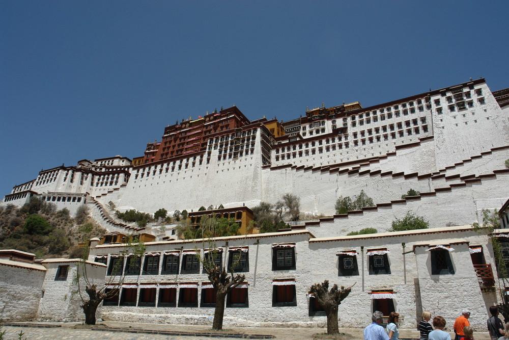 Tibet 19 Potala Palast Lhasa 1