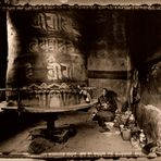 Tibet - Chimpu - In the Meditation Cave