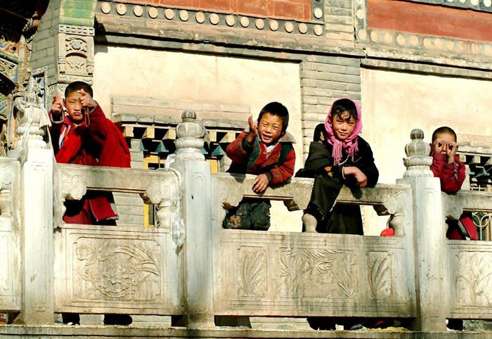 Tibet Nationality Child
