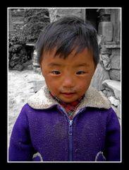 Tibetan Boy - Annapurna (Nepal)