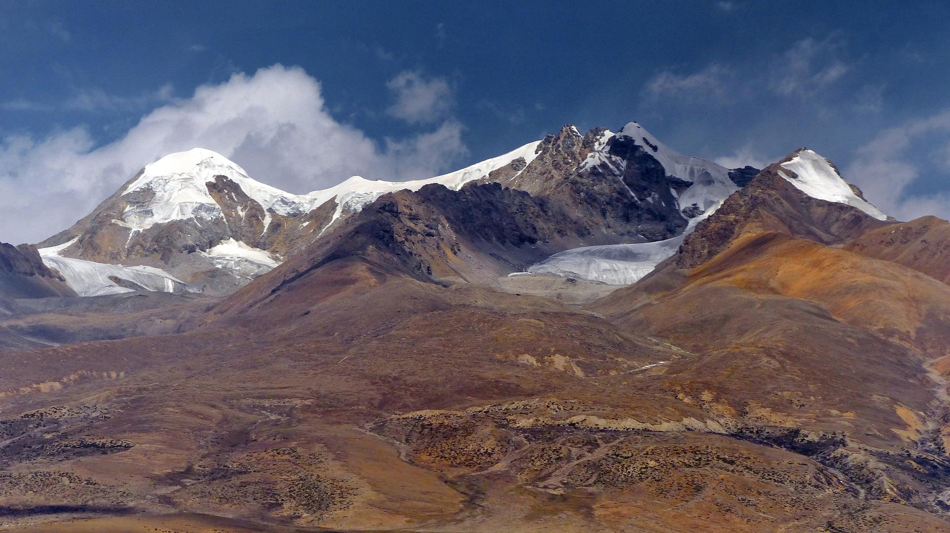 Tibetbahn Aussicht
