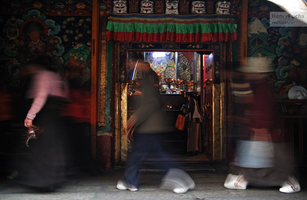 Tibetische Geister...
