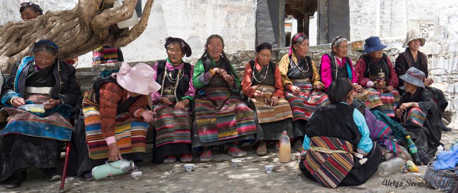 Tibetische Pilgerinnen