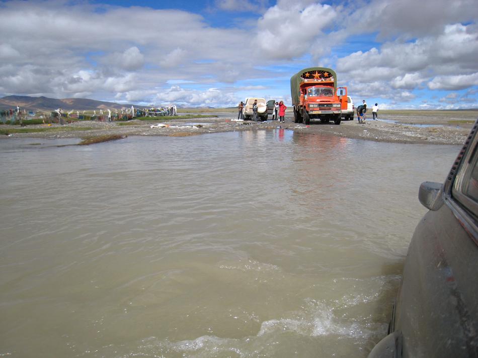 tibetische Wasserstrassen