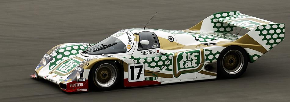 tic-tac Porsche