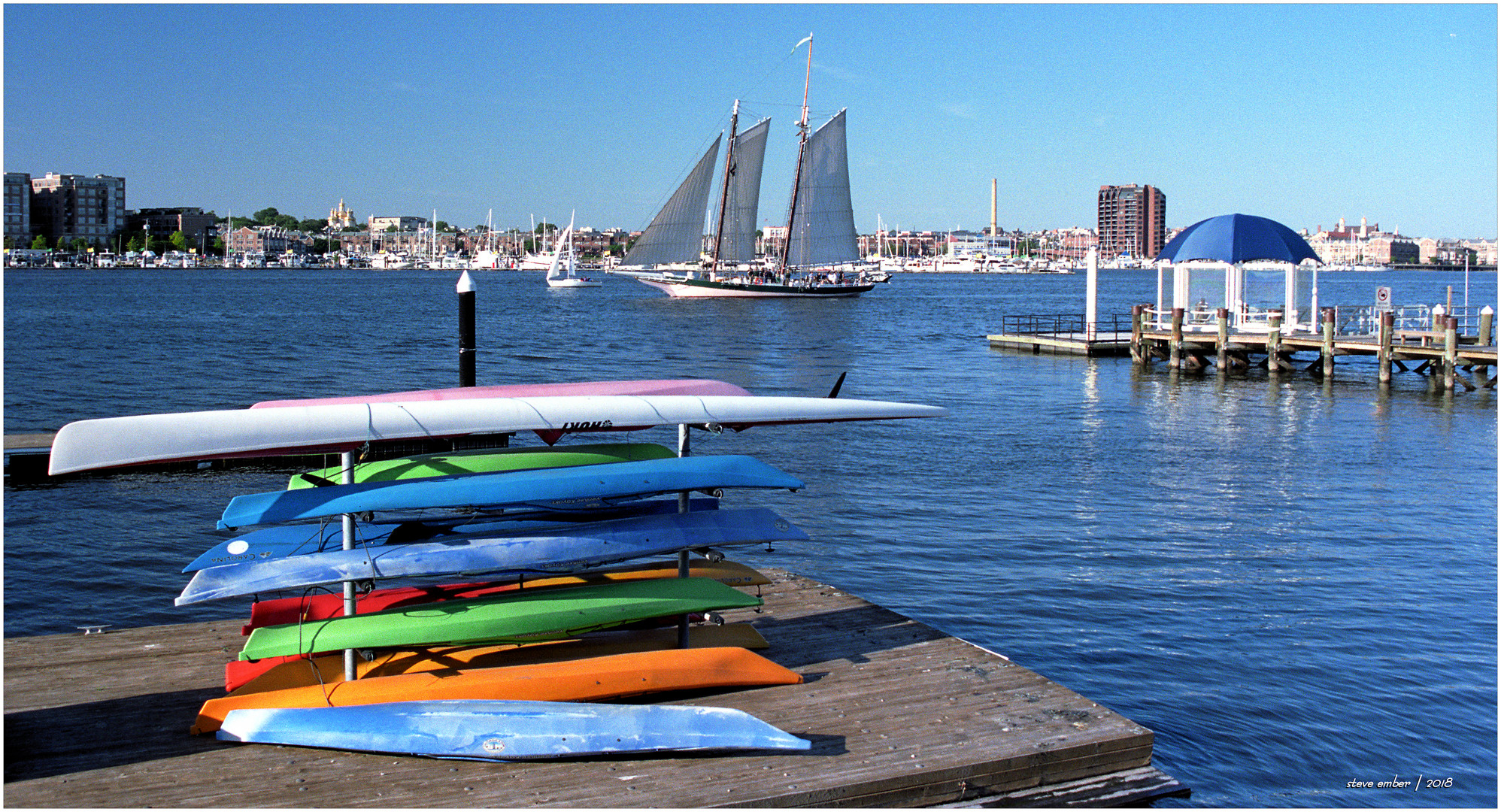 Tide Point - A Baltimore Inner Harbor Moment