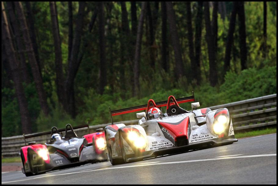 Tief in den Wäldern von Le Mans