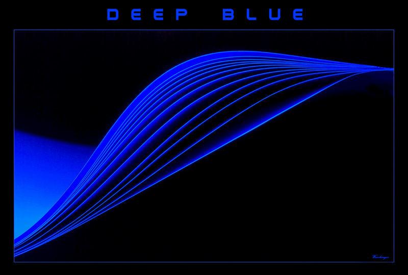 Tiefes Blau