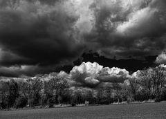 Tiefhängende Wolken