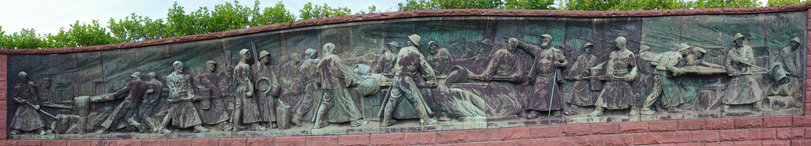 Tiegelguss- Denkmal in Essen