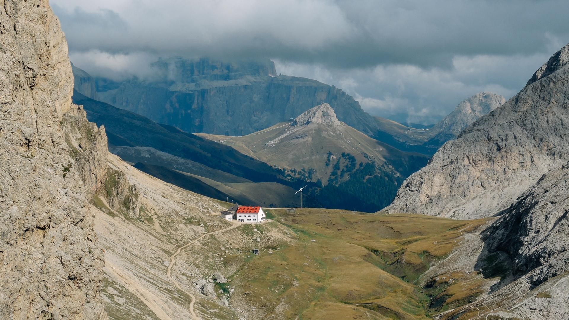Tierser Alp vor dem Regen Südtirol 2015