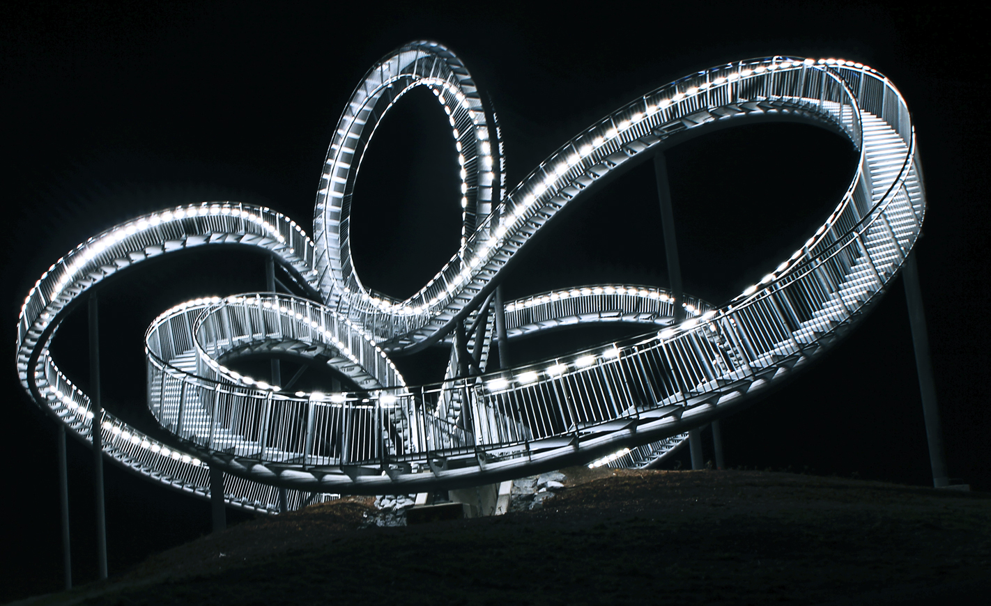 Tiger and Turtle...and another nother Point of view