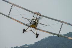 Tiger Moth auf Punkt 12 Uhr