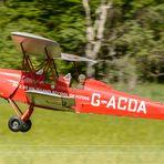 Tiger - Moth im Landeanflug !