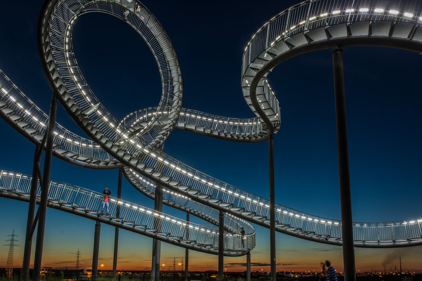 Tiger & Turtle by night (3)