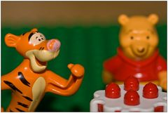 Tiger und Winnie Pooh