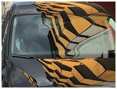 Tiger's car