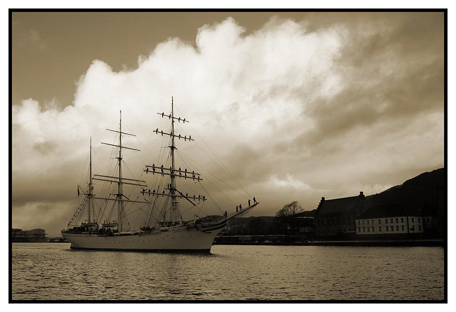 tilbake i Bergen ...