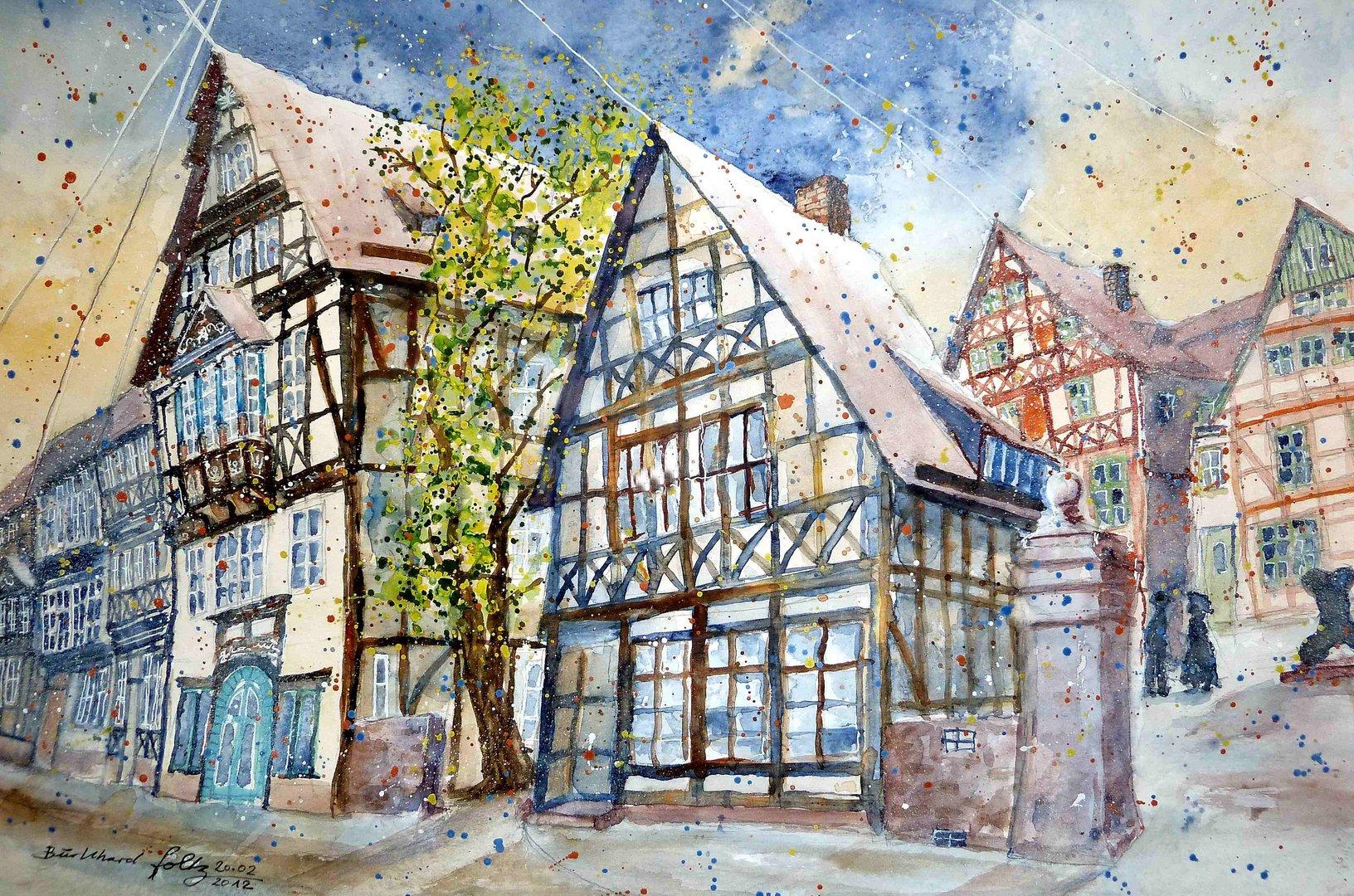 Tillyhaus in Höxter, ehemaliger Adelshof Heisterman von Ziehlberg