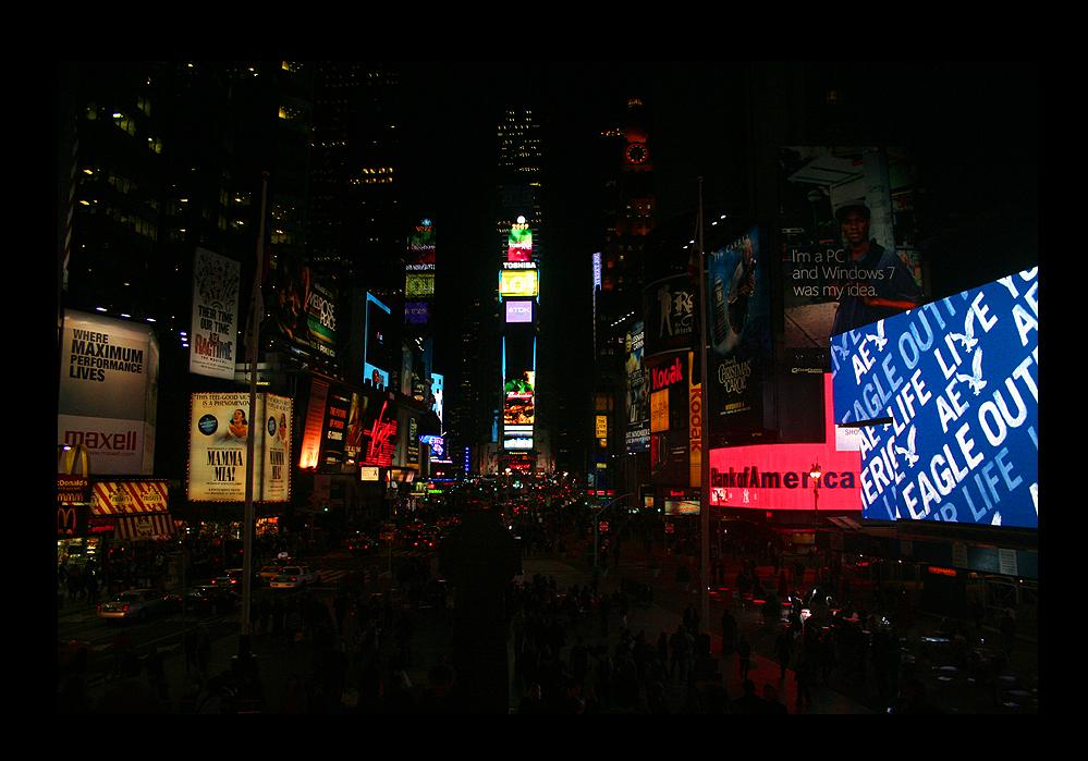 Time Square November 2009
