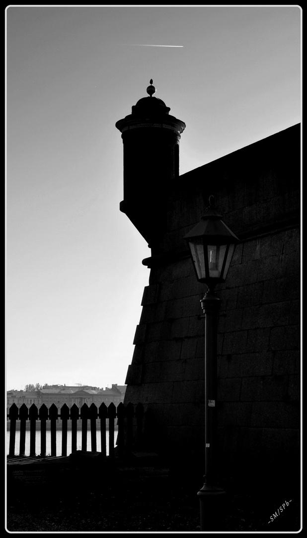 Time when the shadows fall down -